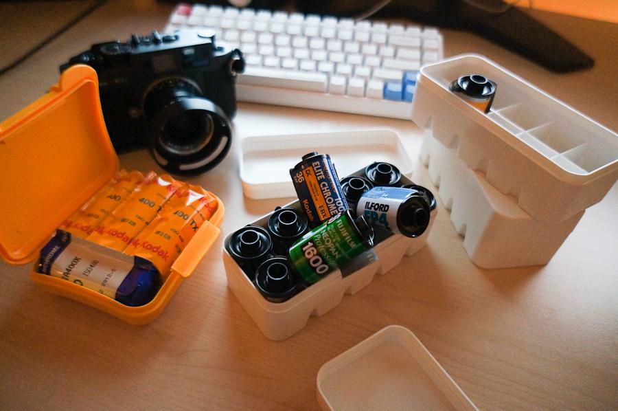 120 film case