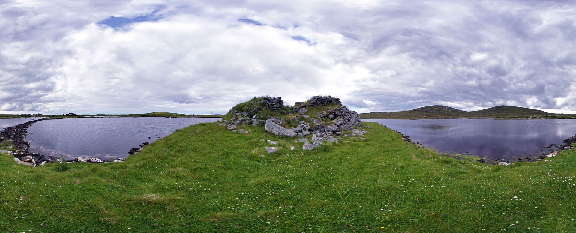 11 Dun an Sticir (dun or broch) (outside dun)
