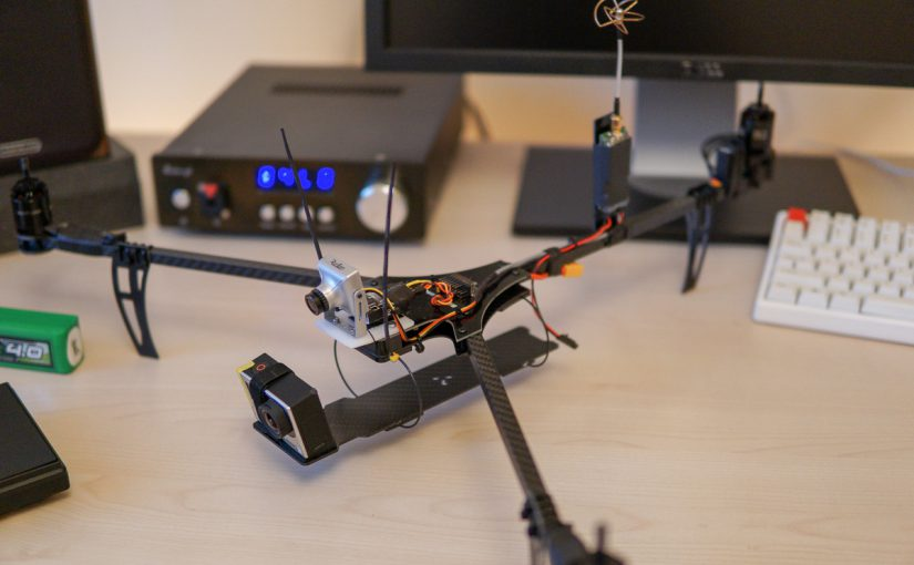RCExplorer Tricopter v4 build